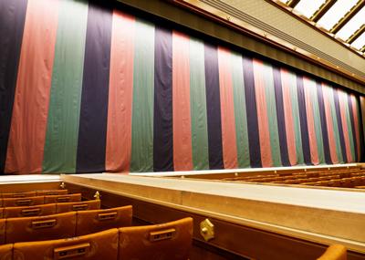 歌舞伎座定式幕