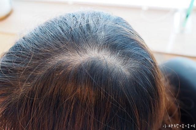 MOTISS增髮纖維用於分際線遮蓋的心得分享