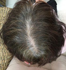 魔髮粉 使用前