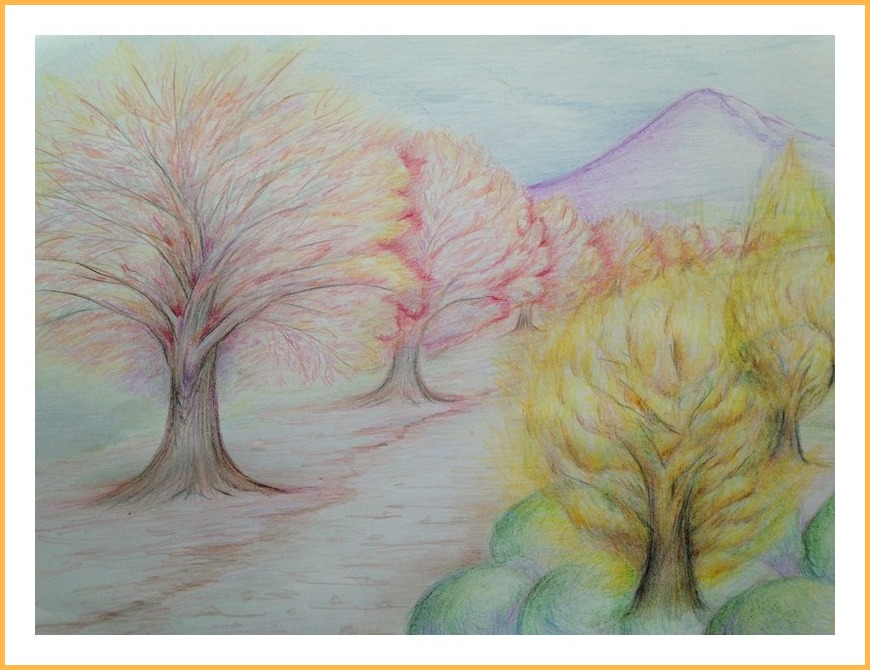 最後の紅葉を…銀杏・楓・桜木