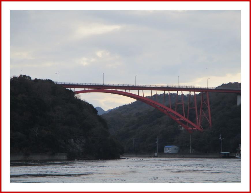 故郷の風景2(赤い橋)