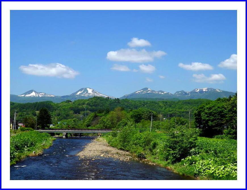 ニセコの山々