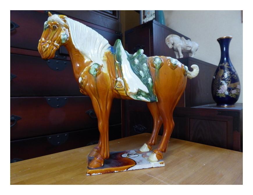 三彩の馬(中国)