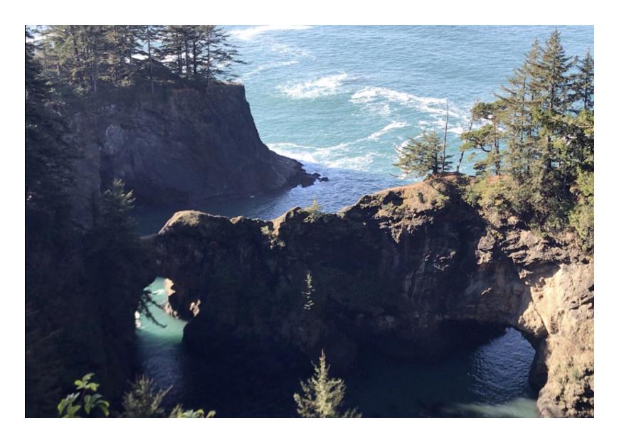 オレゴン州の海岸