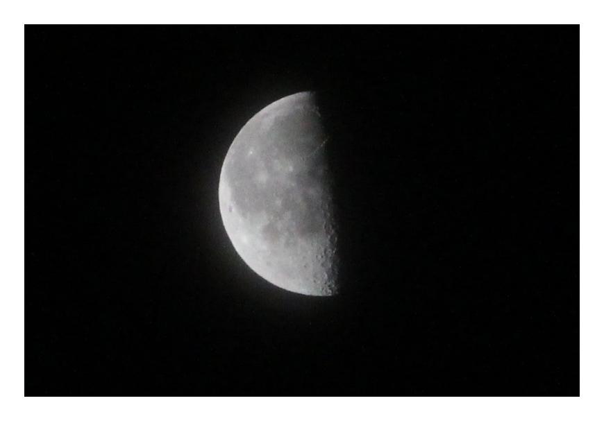 「下弦の月」