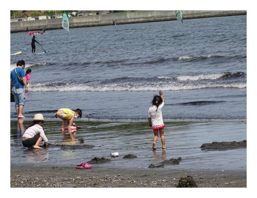海と子供たち 江の島