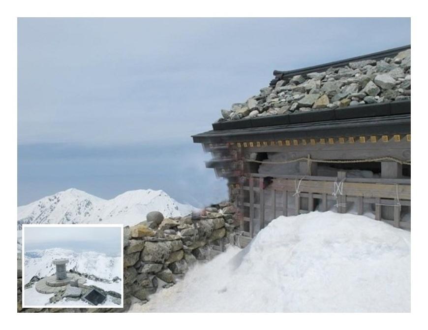 立山頂上峰本社