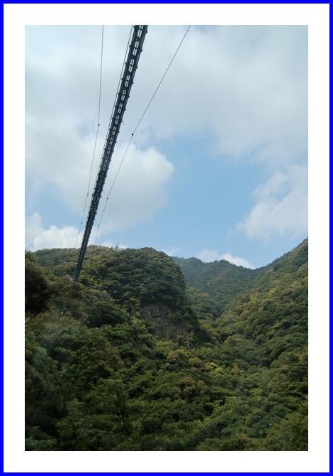 世界一高い吊り橋
