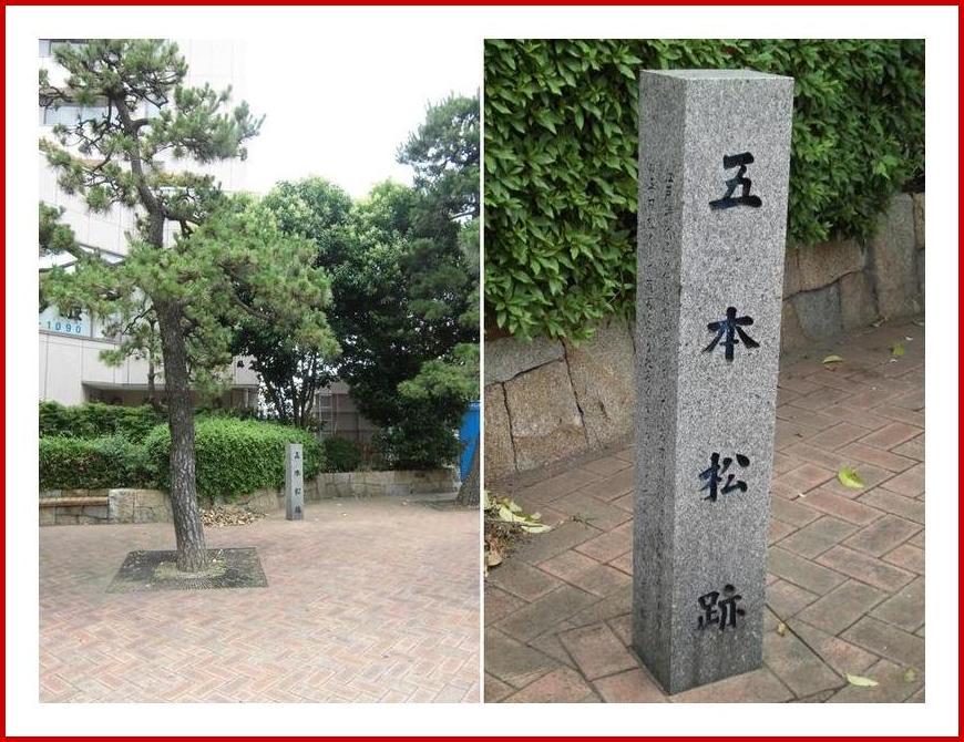 小名木川五本松跡