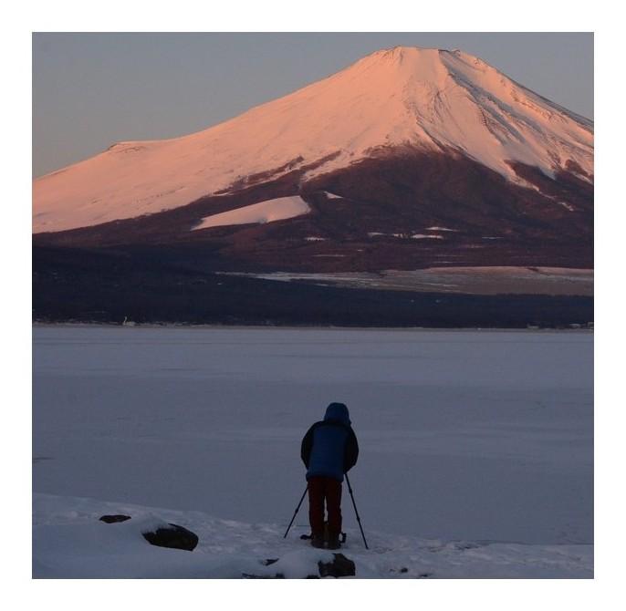 富士を写す