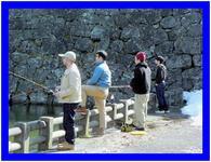 早春を釣る