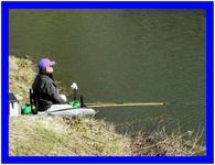 早春の釣り