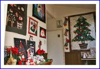 キルト クリスマスの飾り付け
