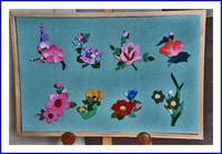 縮緬で作る春の花