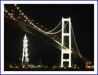 白鳥大橋夜景