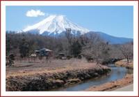 忍野八海の富士