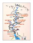 黒部川水系のダムと発電所