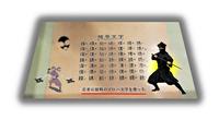 忍者の暗号イロハ文字