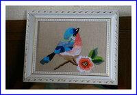 小鳥 刺繍