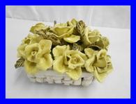 発表会作品  陶器の花束